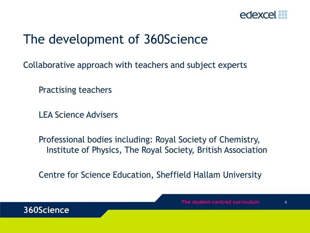 The development of 360Science