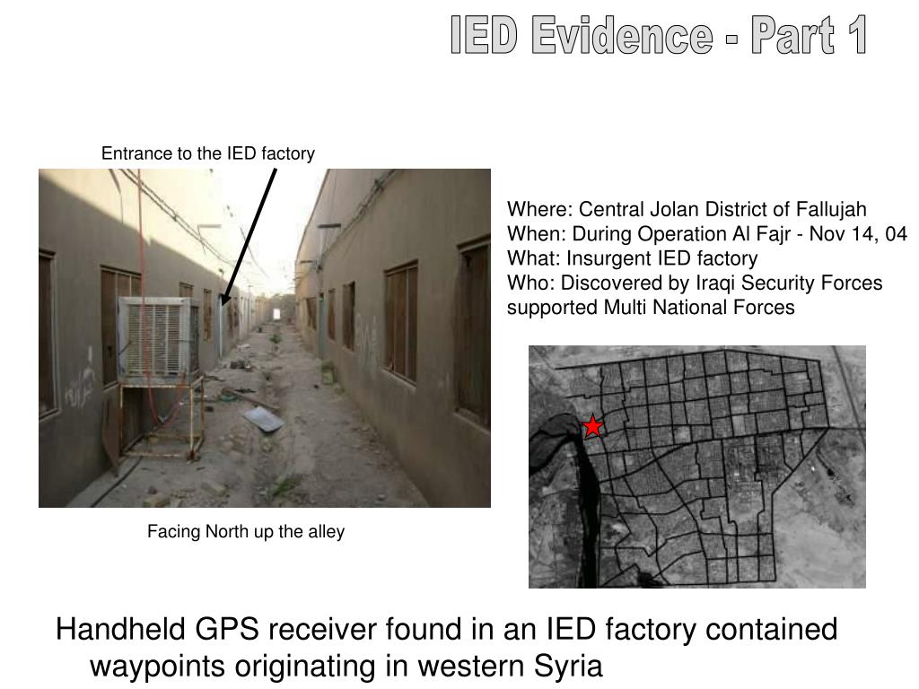 IED Evidence - Part 1