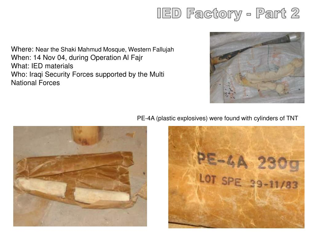 IED Factory - Part 2
