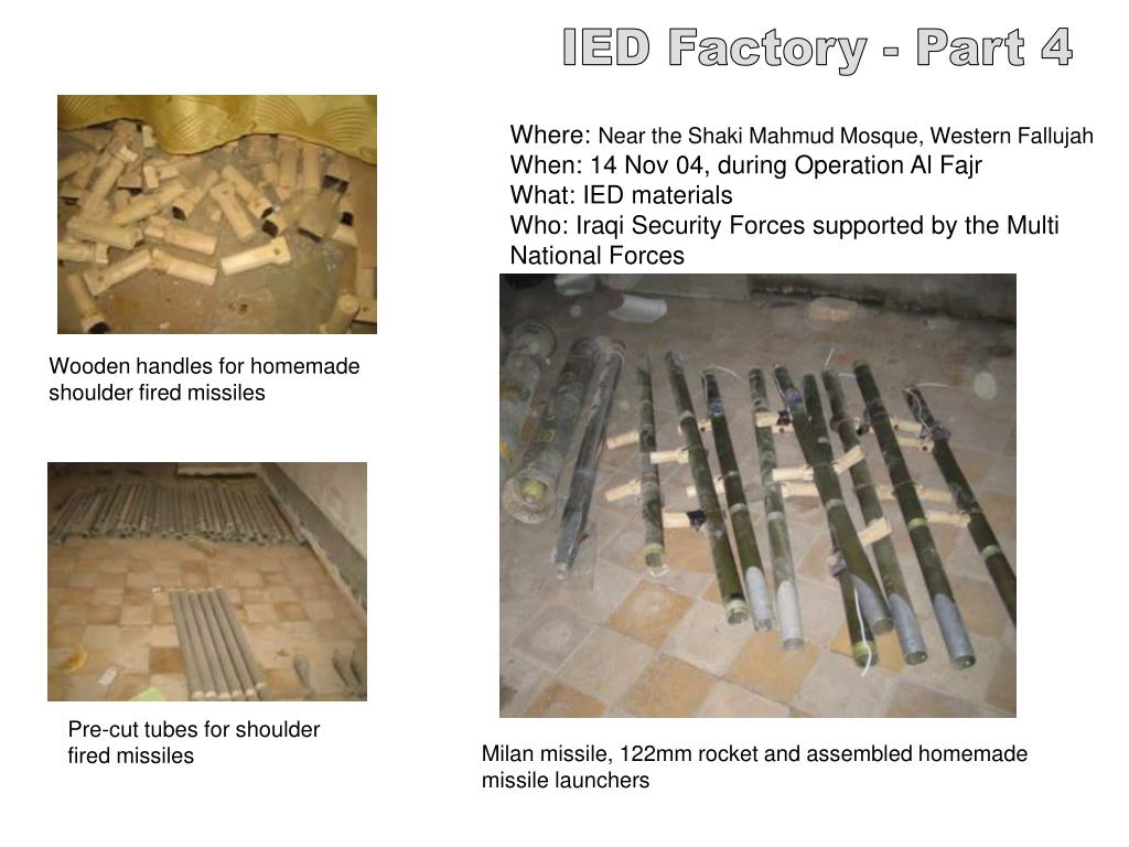 IED Factory - Part 4