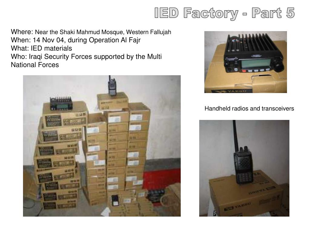 IED Factory - Part 5