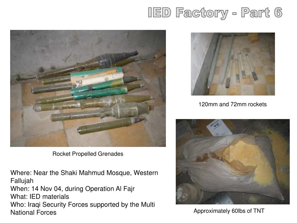 IED Factory - Part 6