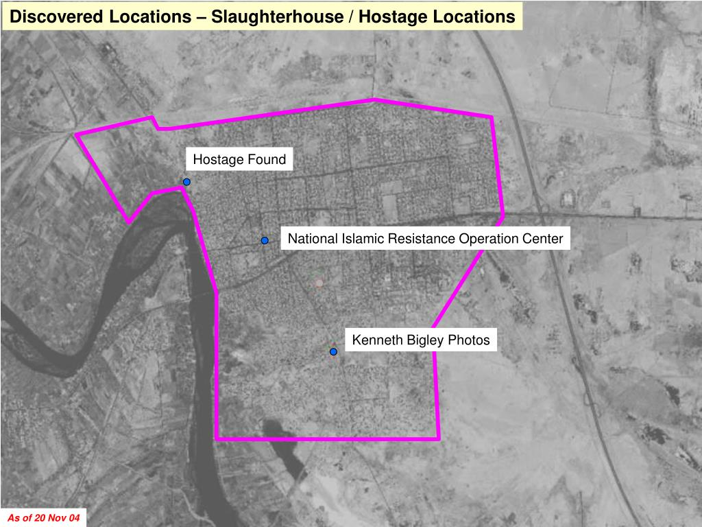 Discovered Locations – Slaughterhouse / Hostage Locations