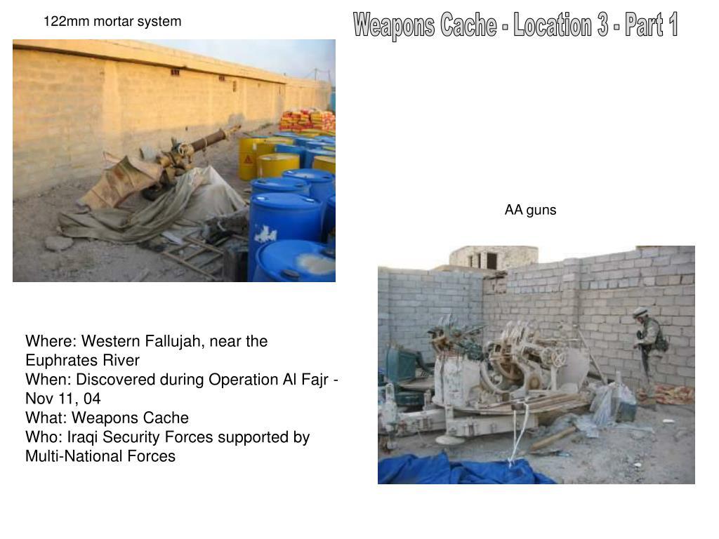 122mm mortar system