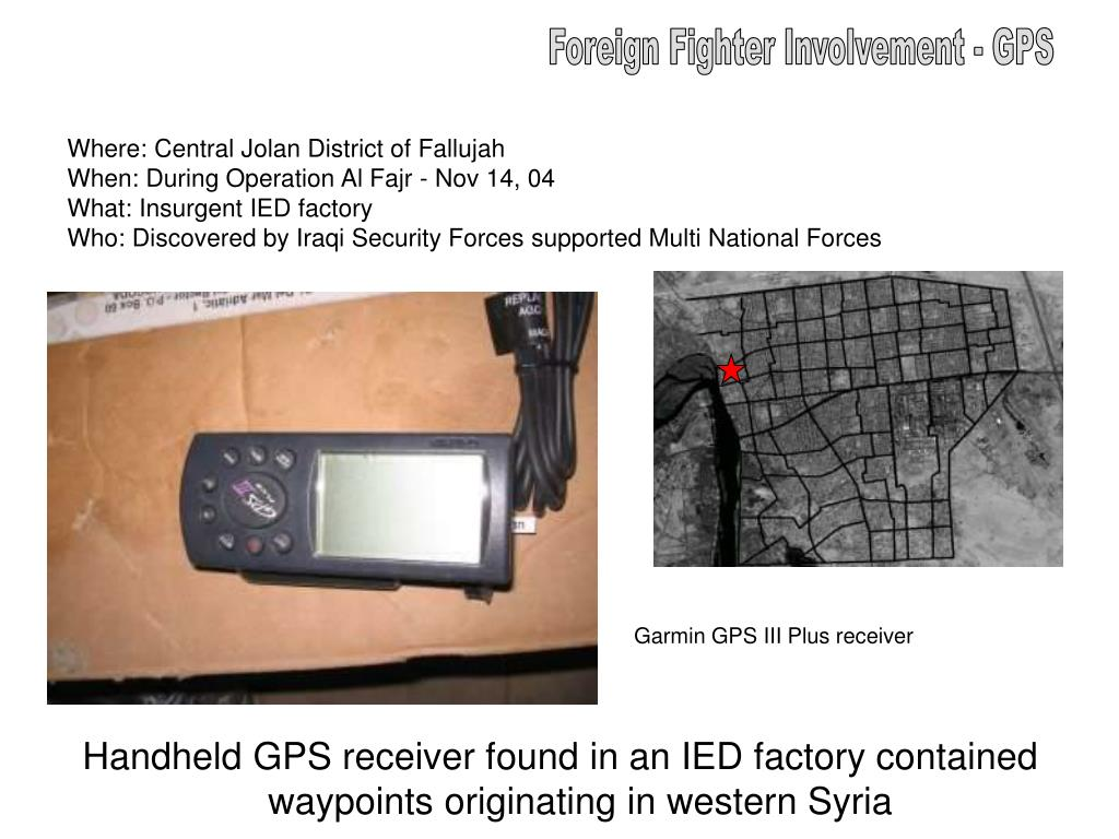 Foreign Fighter Involvement - GPS