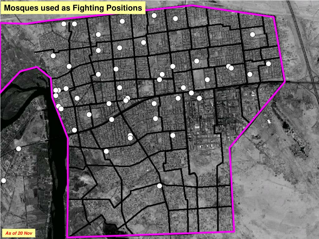 Mosques used as Fighting Positions