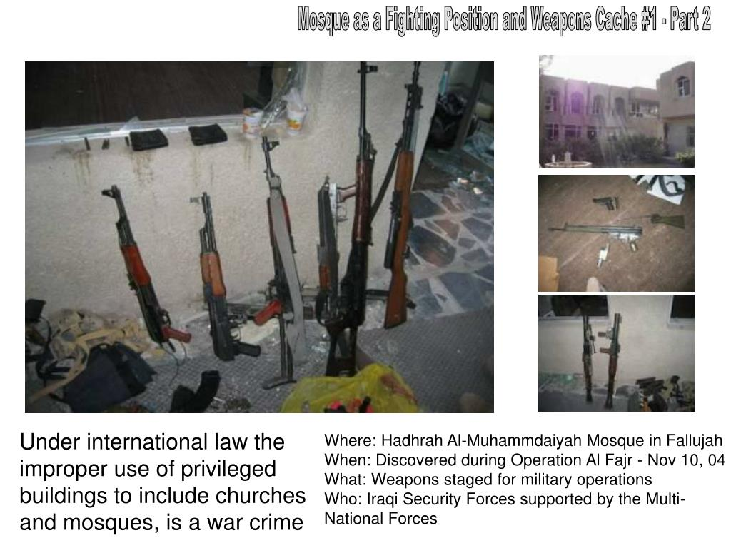 Mosque as a Fighting Position and Weapons Cache #1 - Part 2