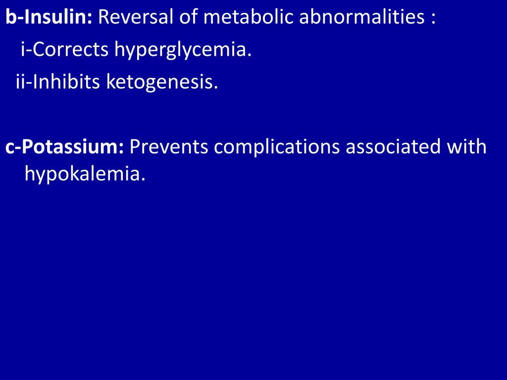 b-Insulin: