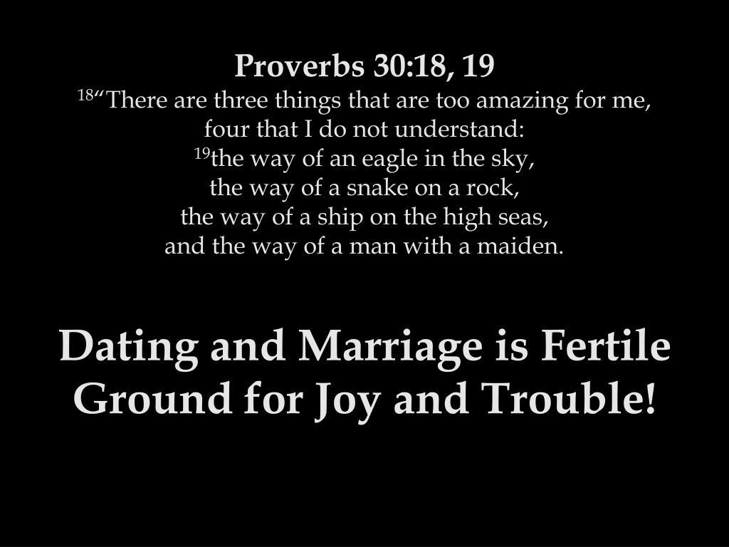 Proverbs 30:18, 19