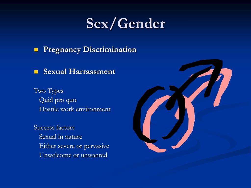 Sex/Gender