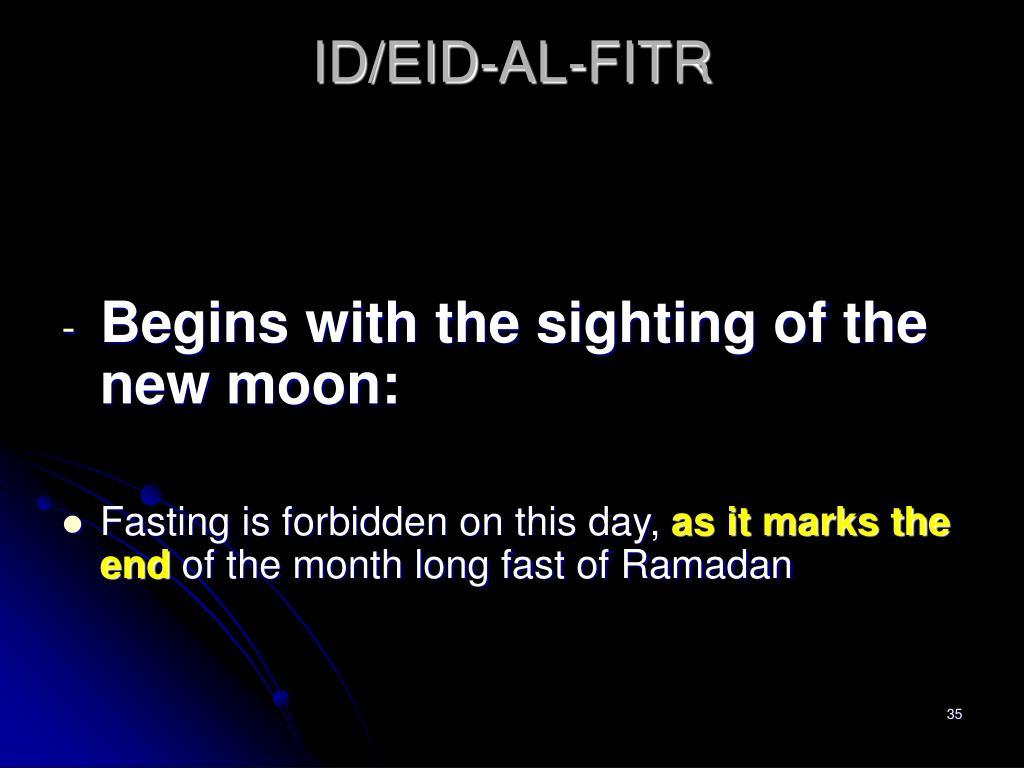 ID/EID-AL-FITR