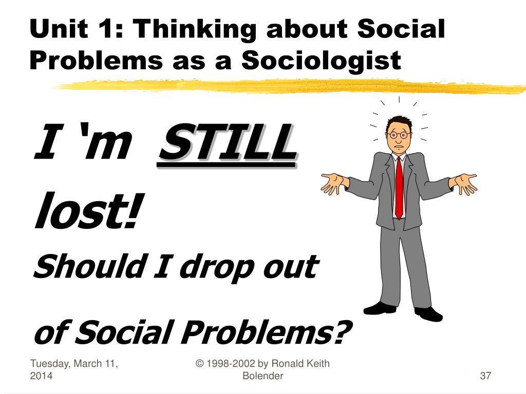 To think like a sociologist