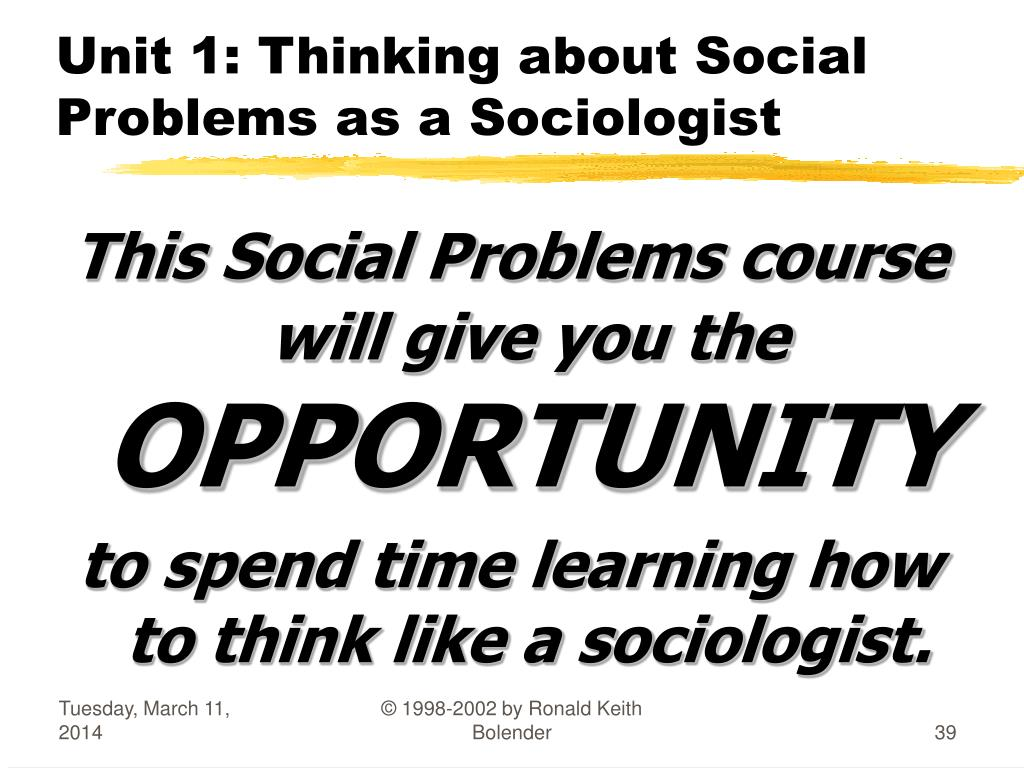 to think like a sociologist Study 37 sociology flashcards from natalie s on studyblue study 37 some sociologists think of how the social structure of society is like a multi-floor building.