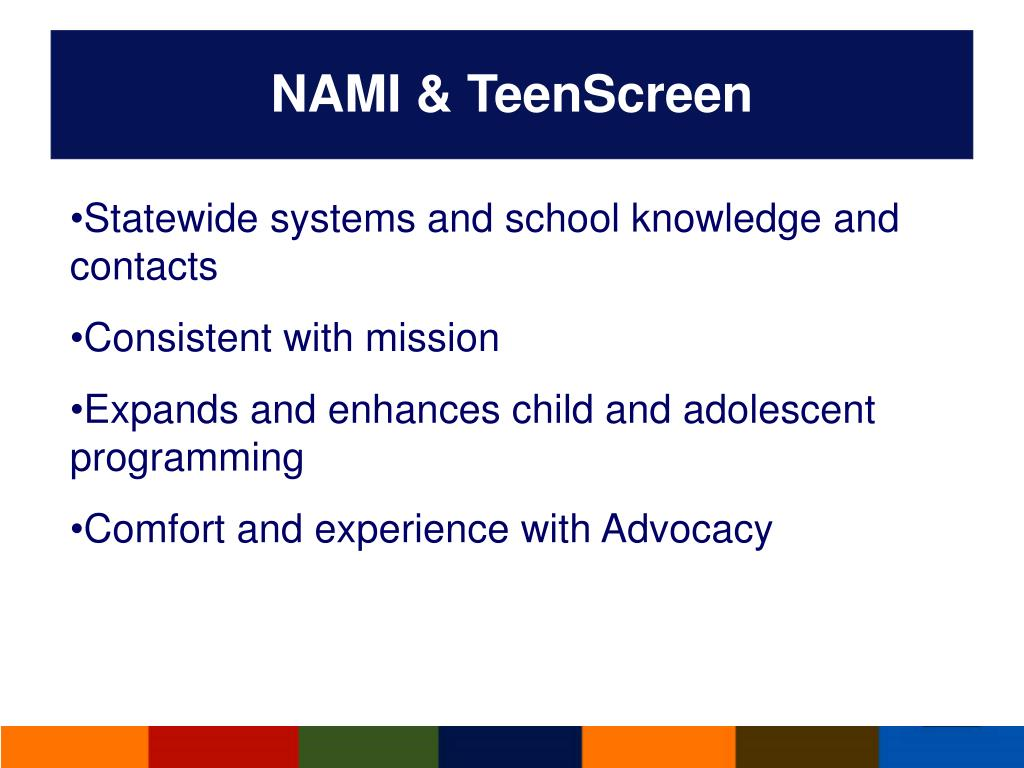 NAMI & TeenScreen