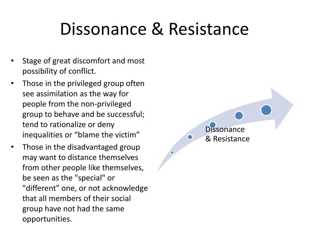 Dissonance & Resistance