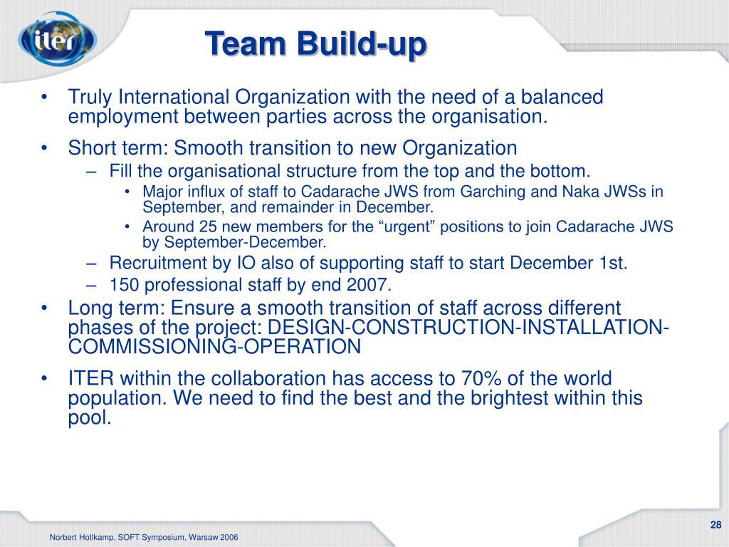 Team Build-up
