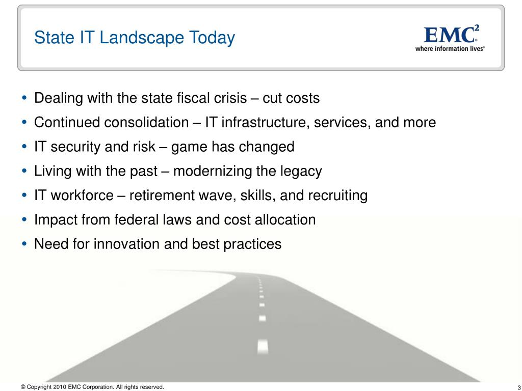 State IT Landscape Today