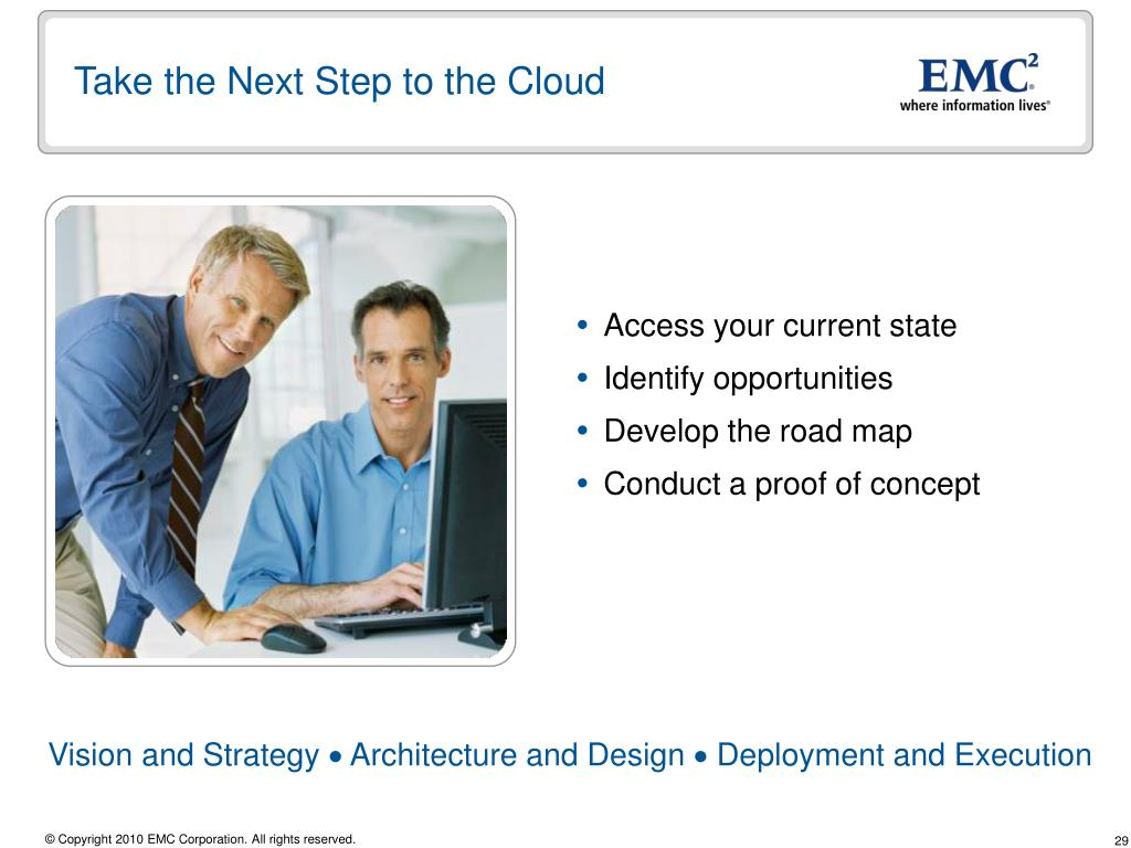 Take the Next Step to the Cloud