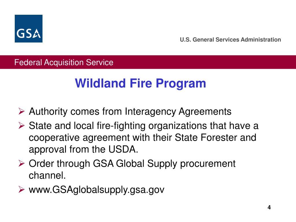 Wildland Fire Program