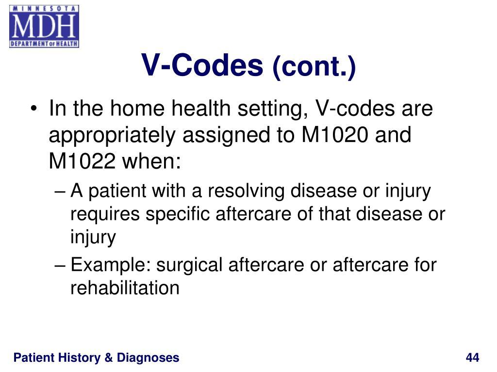 V-Codes