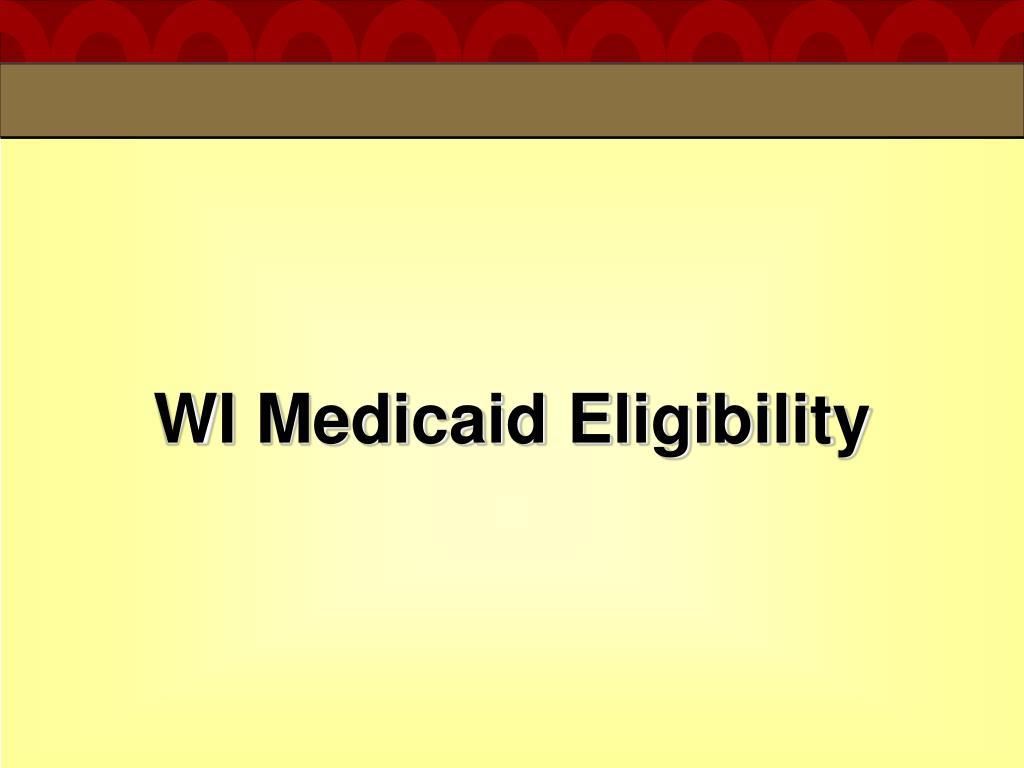 WI Medicaid Eligibility
