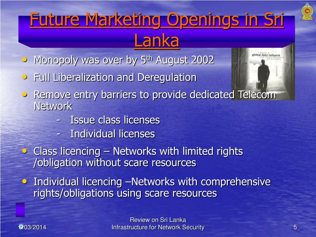 Future Marketing Openings in Sri Lanka