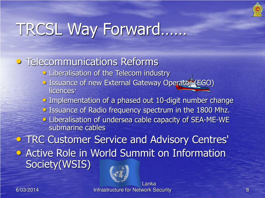 TRCSL Way Forward……
