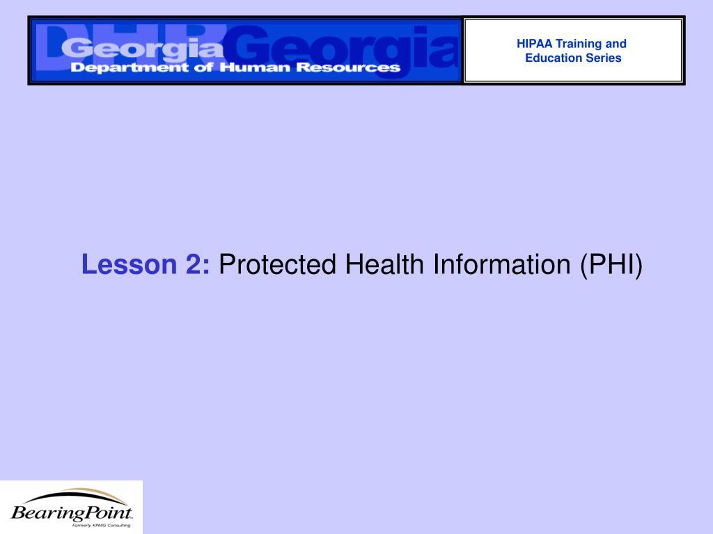 HIPAA Training and