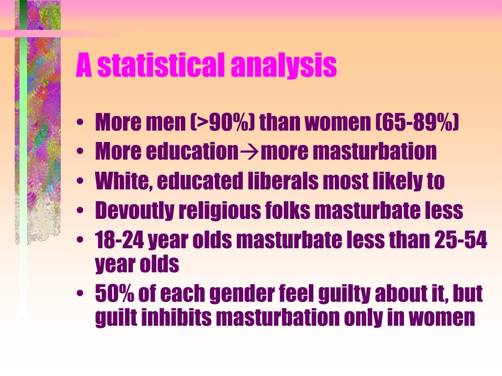 A statistical analysis