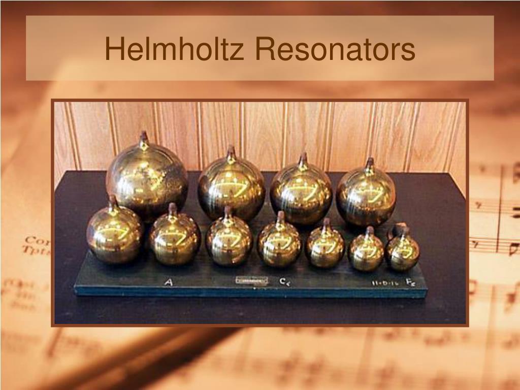 Helmholtz Resonators