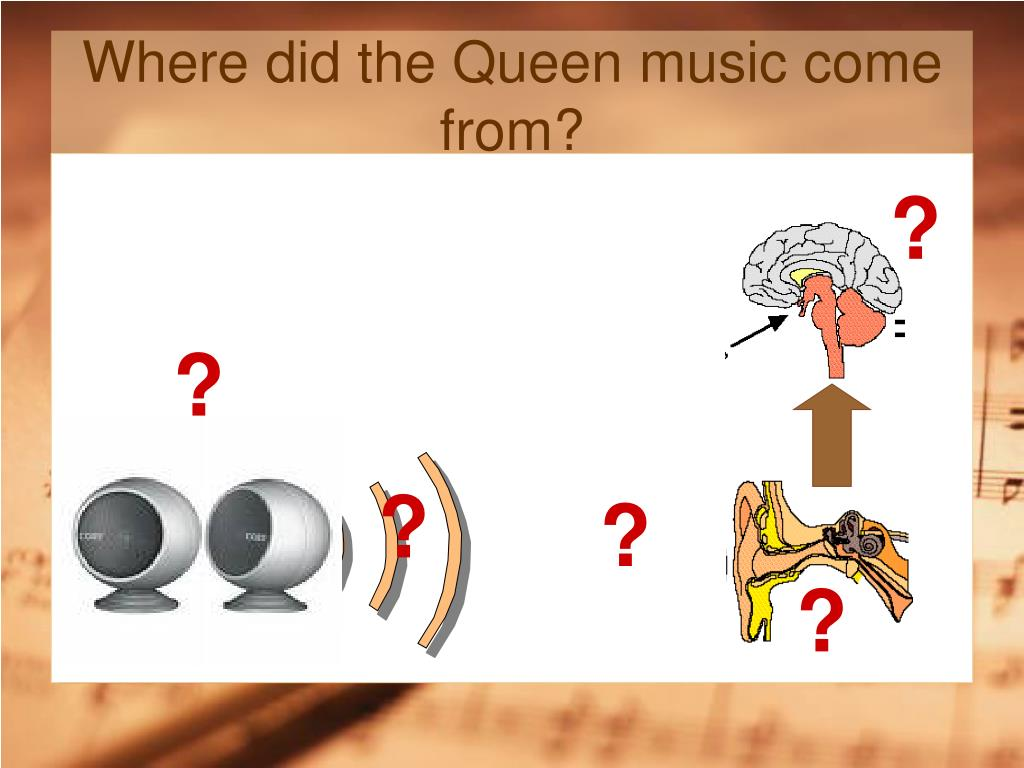 Where did the Queen music come from?