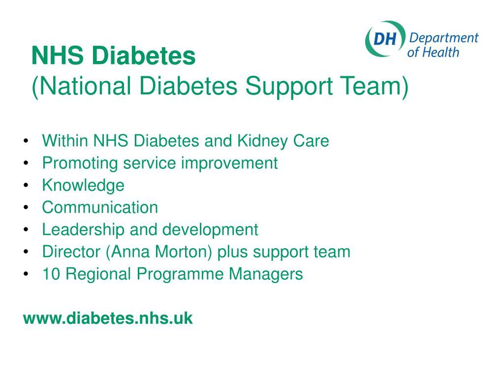 NHS Diabetes