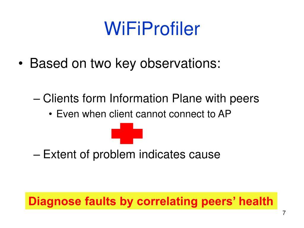 WiFiProfiler