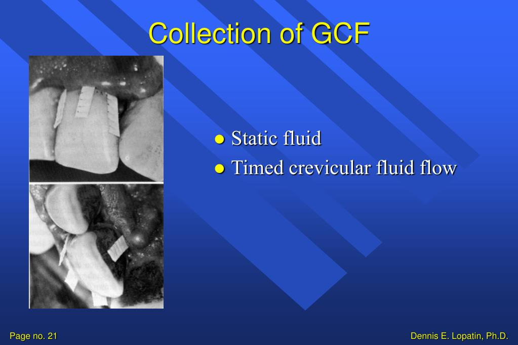 Collection of GCF