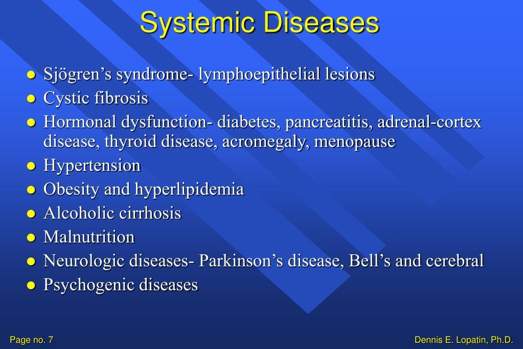 Systemic Diseases