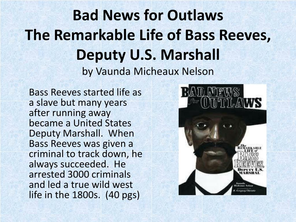 Bad News for Outlaws