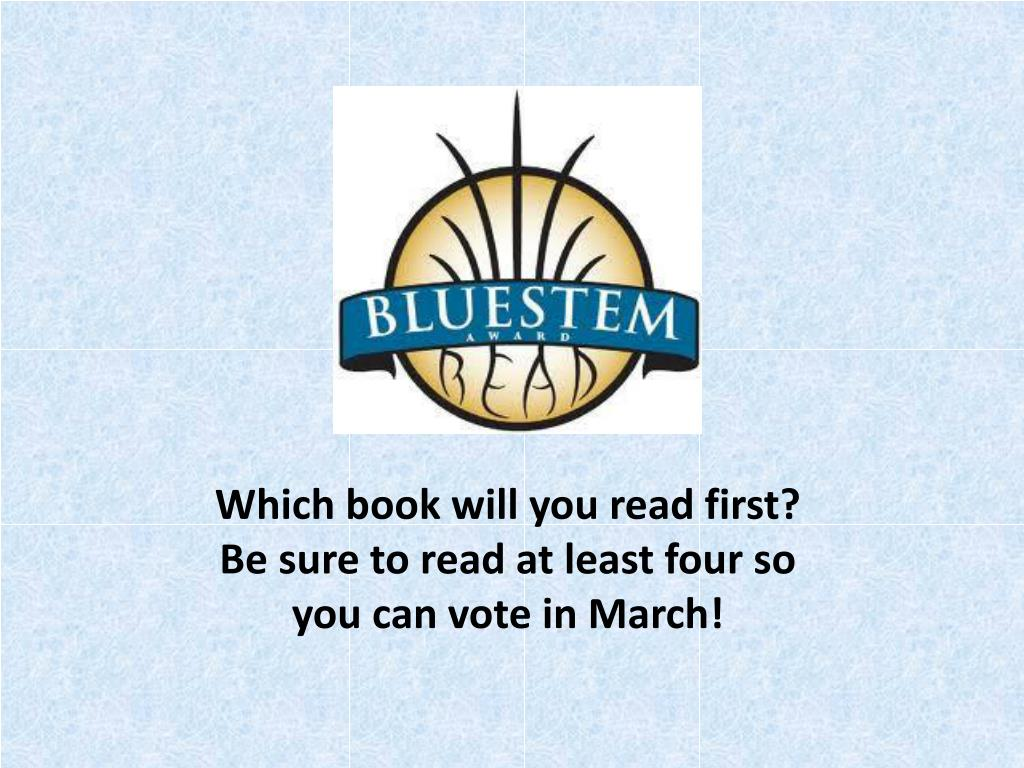 Which book will you read first?