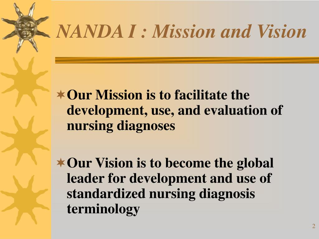 NANDA I : Mission and Vision