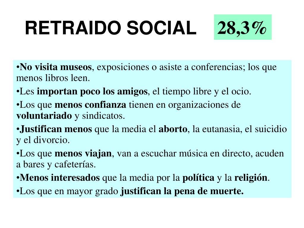 RETRAIDO SOCIAL