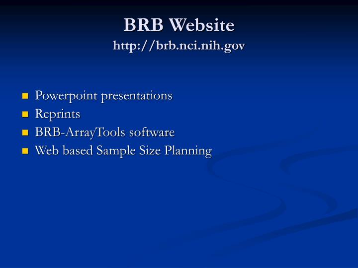 Brb website http brb nci nih gov l.jpg