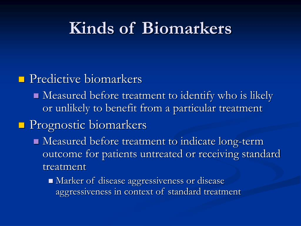 Kinds of Biomarkers