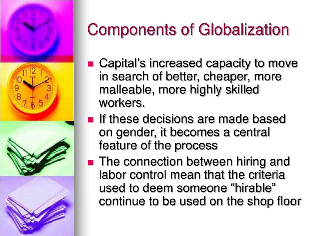 Components of Globalization