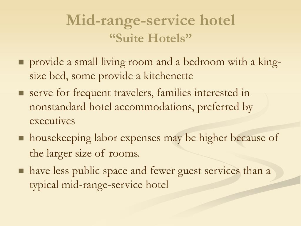 Mid-range-service hotel