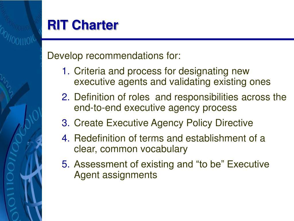 RIT Charter