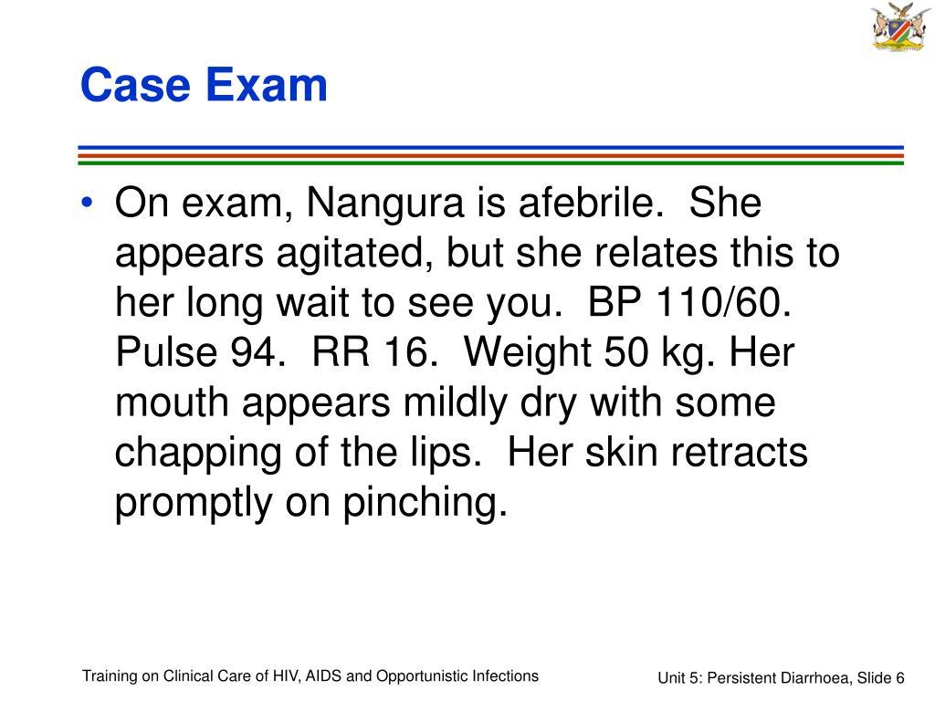 Case Exam