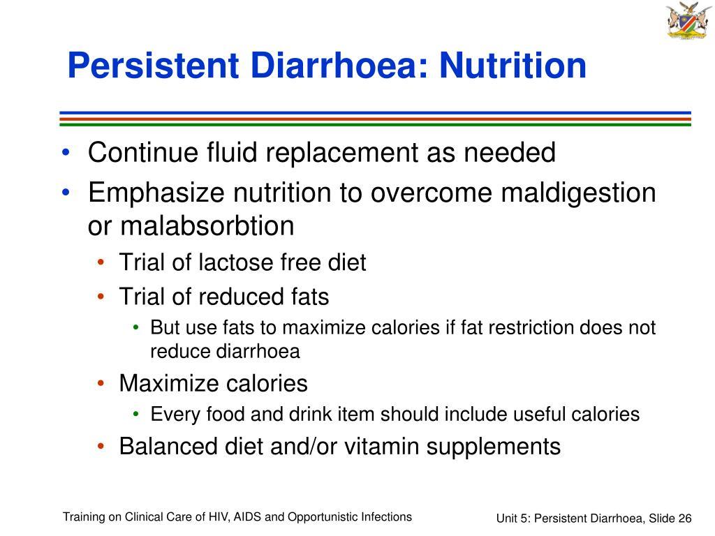 Persistent Diarrhoea: Nutrition