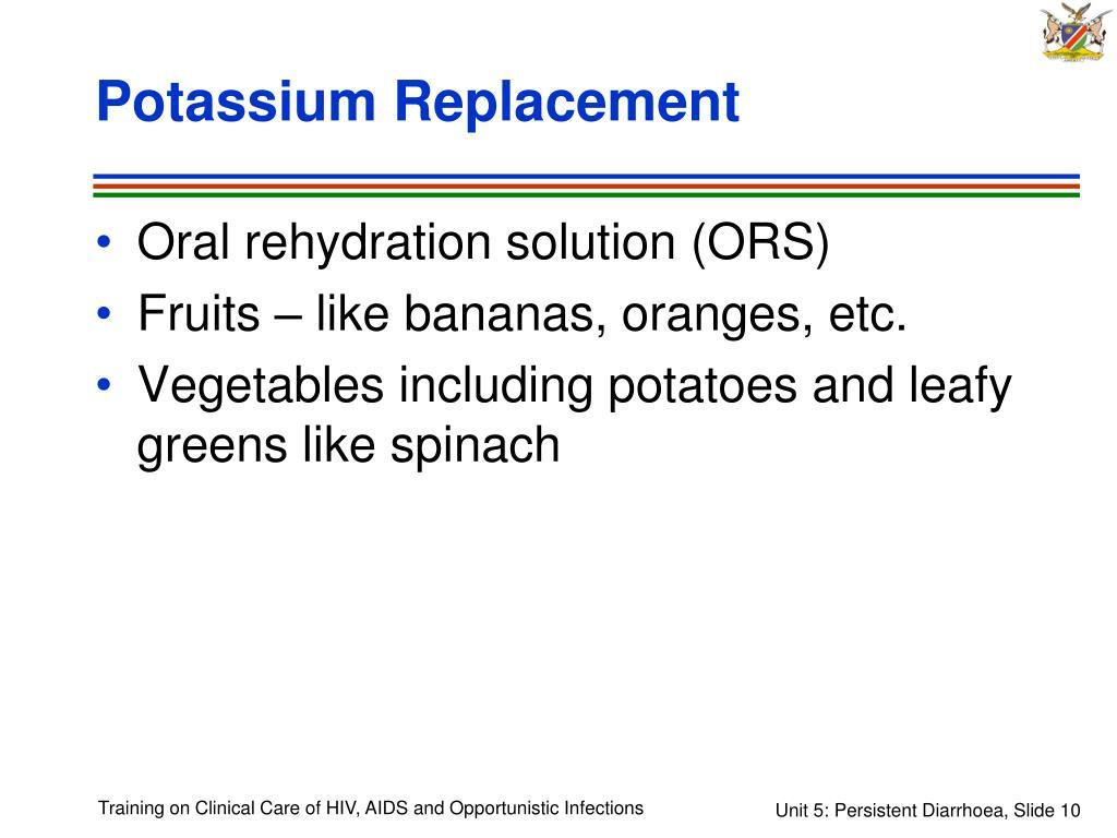 Potassium Replacement