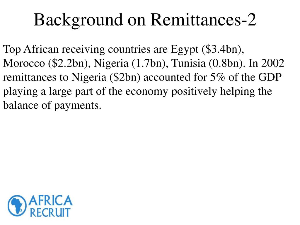 Background on Remittances-2