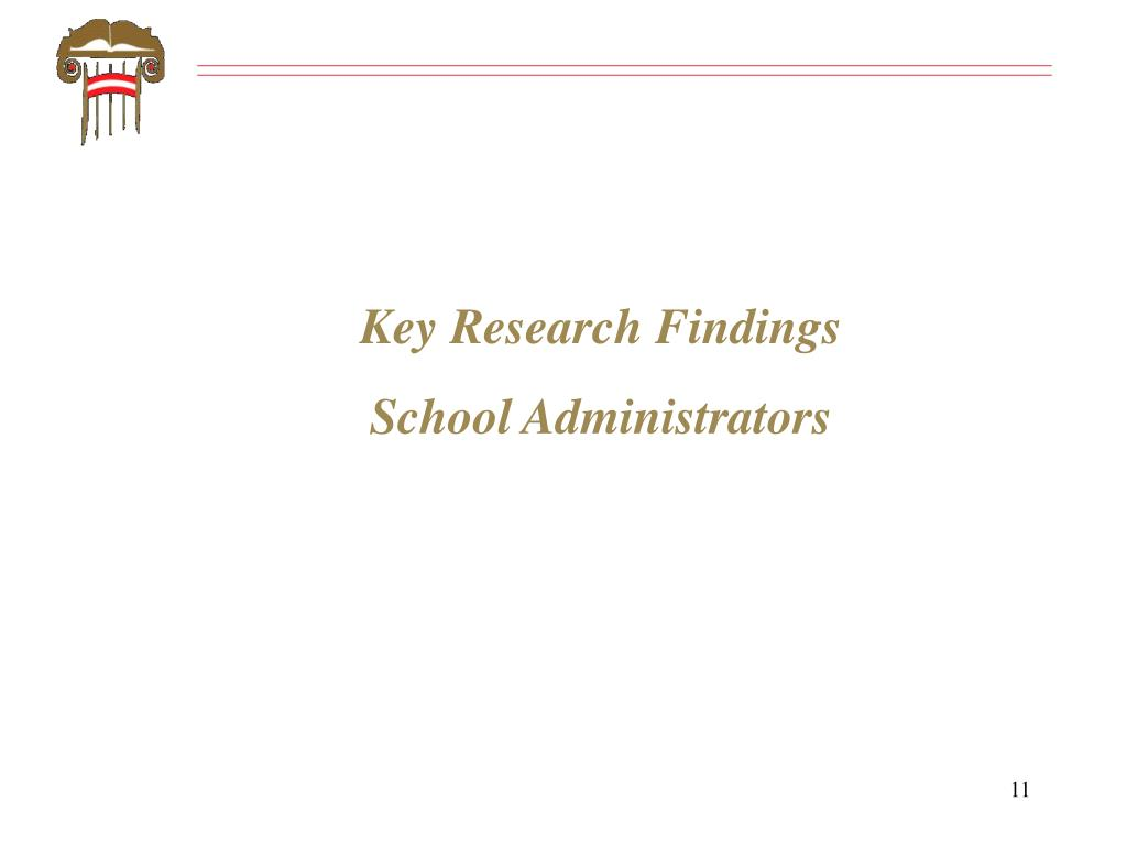 Key Research Findings