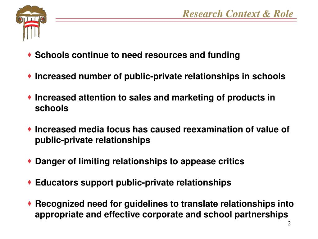 Research Context & Role